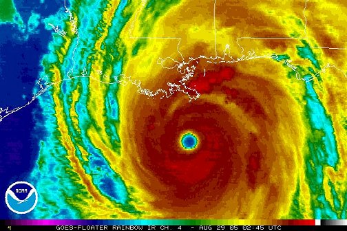 Hurricane Katrina, 02:45Z August 29, 2005