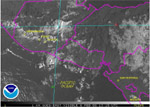 Sample of GOES Volcano Imagery