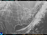 Sample synoptic view image over the US
