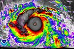 image of Super Typhoon Haiyan, November 7, 2013 at 12:30 UTC