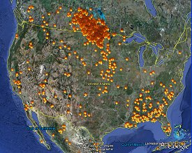 Hazard Mapping System Fire And Smoke Product Office Of Satellite - Us wildfire map