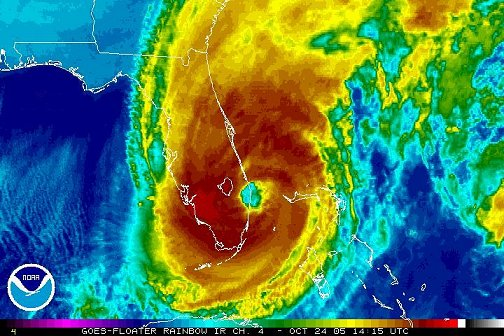Hurricane Wilma, 14:15Z October 24, 2005
