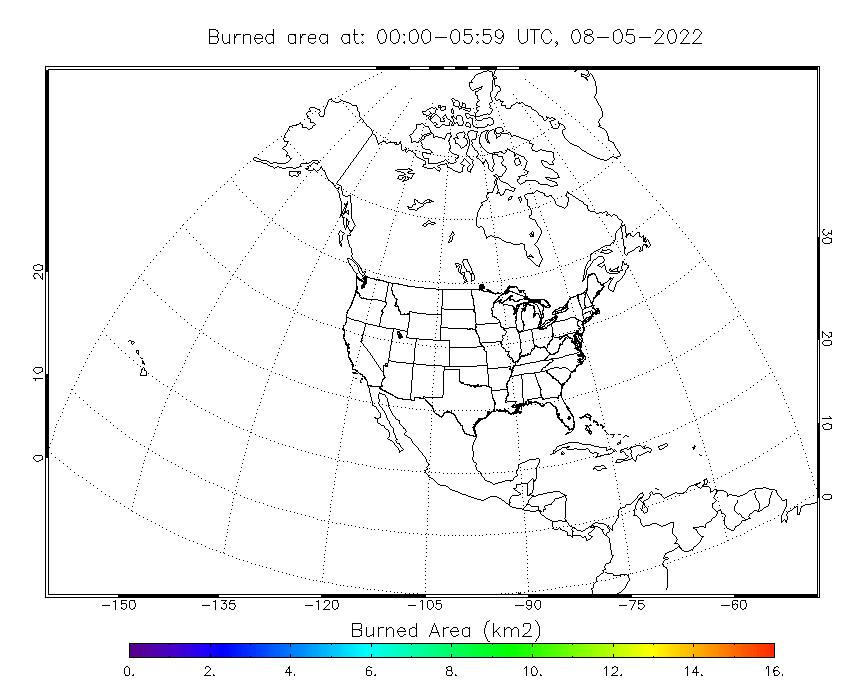 Blended-BBEP Spatial Distribution of Burned Area