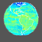 GOES East Longwave Downward Surface Image