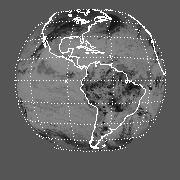 GOES East Mean Channel 4 Radiance Image