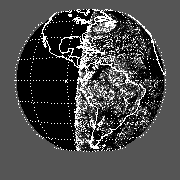 GOES East Std Dev Channel 1 Reflectance Image