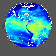 GOES East Total Precipitable Water Image