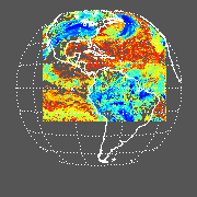 GOES East Cloud Top Pressure (CTP) Image