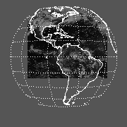 GOES East Mean Channel 1 Reflectance Image