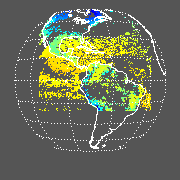 GOES East Radiative Temperature Image