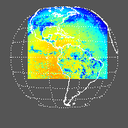 GOES East Shortwave Downward Surface Image
