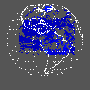 GOES East Shortwave Upward Top-of-Atmosphere Clear Image
