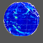 GOES West Shortwave Upward Top-of-Atmosphere
