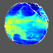 GOES West Total Precipitable Water