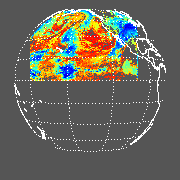 GOES West Cloud Top Pressure (CTP)