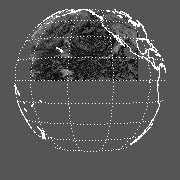 GOES West Mean Cloudy-Sky Channel 1 Reflectance