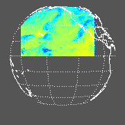 GOES West Longwave Upward Top-of-Atmosphere (OLR)