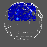GOES West Cloud Optical Depth