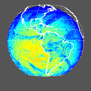 GOES East PAR Downward Surface Flux
