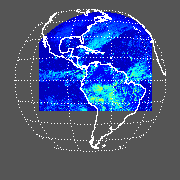 GOES East Shortwave Upward TOA Flux