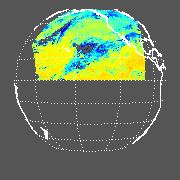 GOES West Radiative Temperature