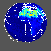 METEOSAT Shortwave Upward Surface Flux