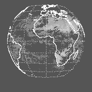 METEOSAT Clear 11-micron radiance