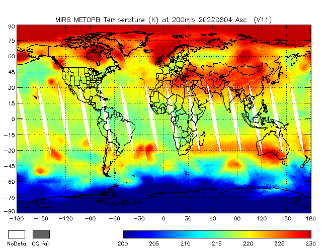 200mb Temperature from METOP-B, Ascending Orbit